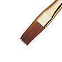 Brush Pinnacle # 8 flat - 100% Kolinsky red sable