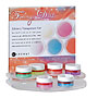 Starter kit for color gel with pearl 6 x 15 ml colors (Fairy Dust collection)