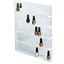 Display rack for 36 polish wall mounted